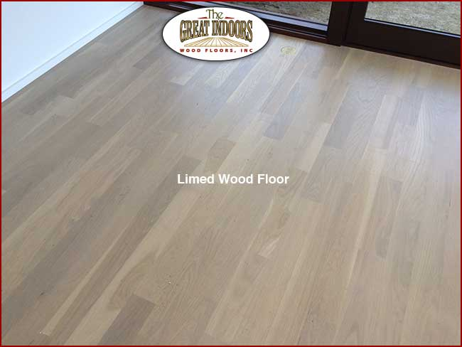 Photo Of Limed Wood Floor With Whitewash Effect